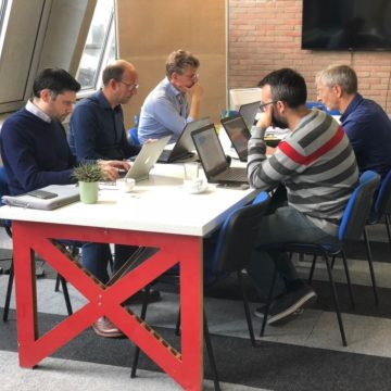 Hackathon by the Dutch development team of ScanmarQED
